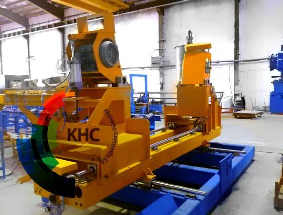 KHC CFW Machine for GRP Pipe